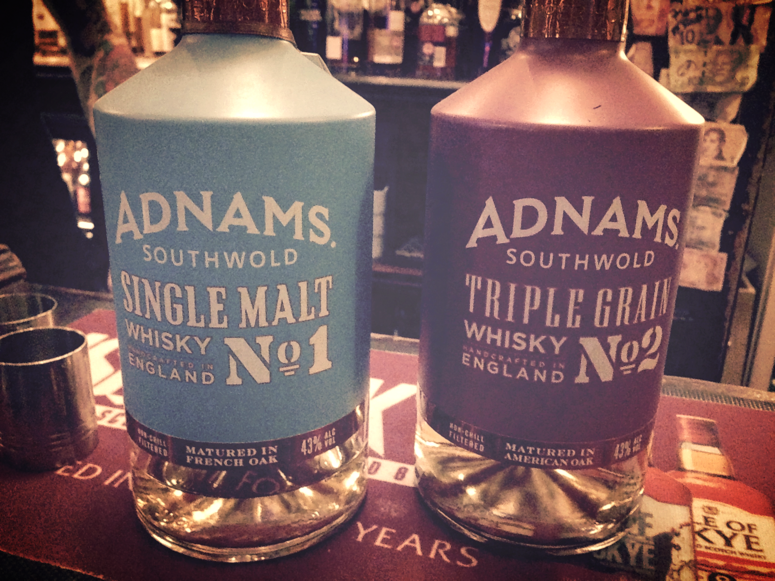 Adnams Whisky at the Pot Still whisky bar