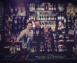 The World Famous Bon Accord - Glasgow - Iain, Jonathan & Cindy
