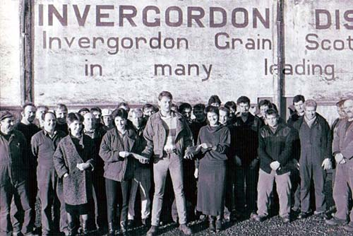 Invergordon Distillery Archives