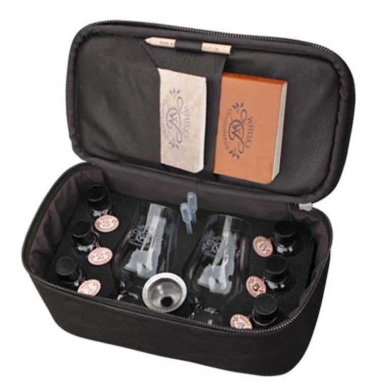 Leather Deluxe Travel Kit