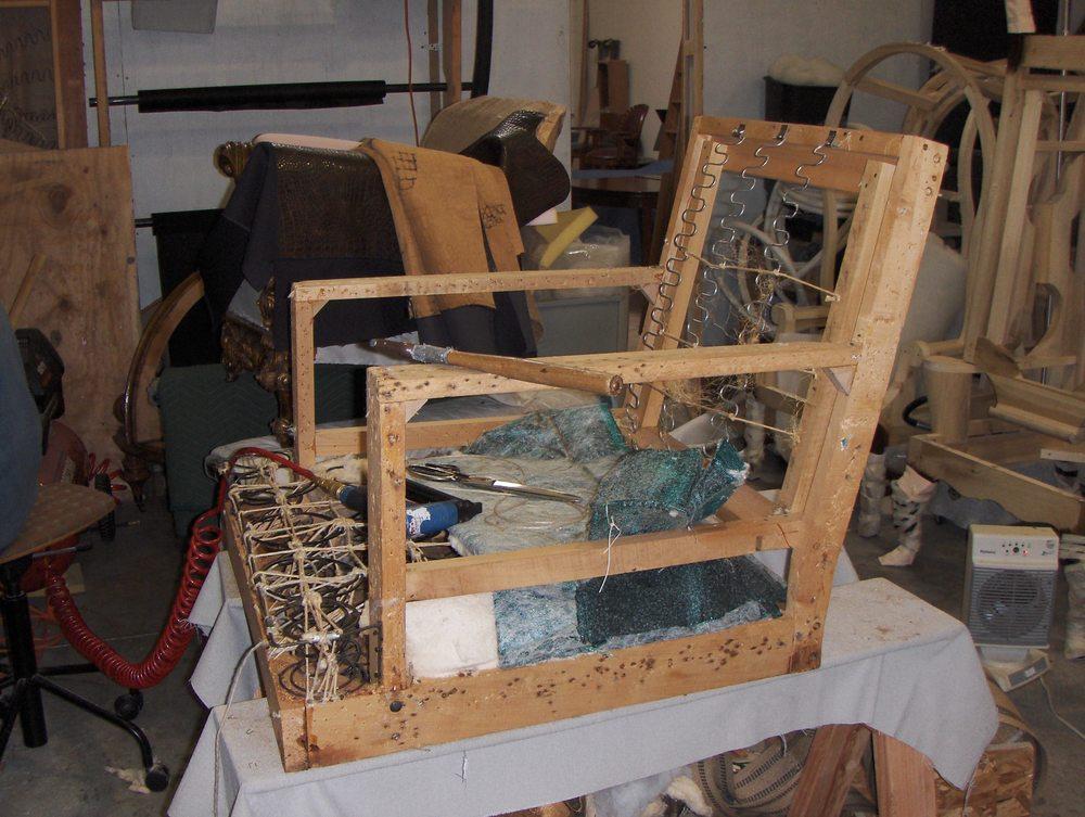 Side Chair  Gutting & repair