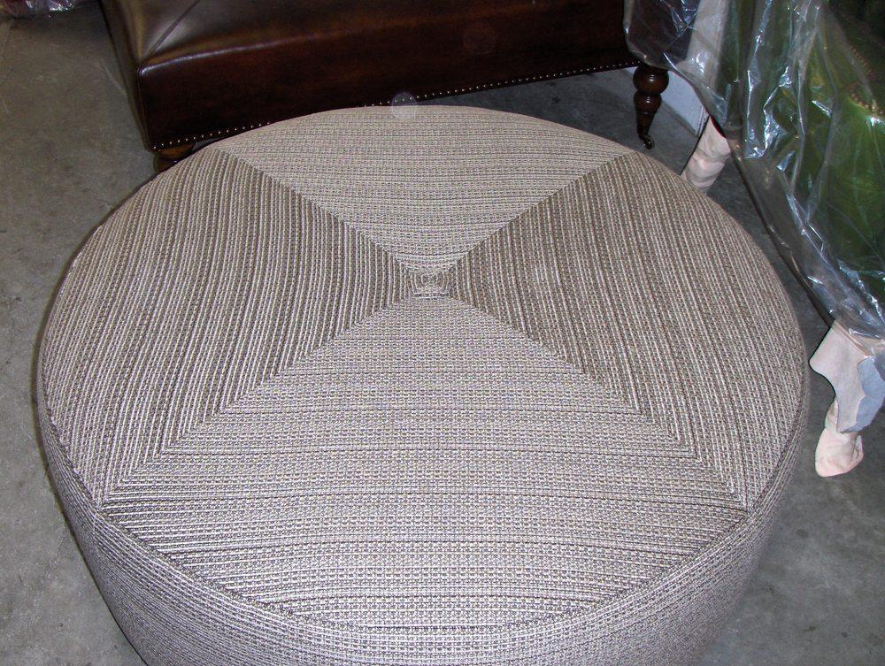 Ottoman  Cotton w/ triangle seam