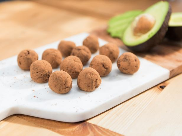 Chocolate Desserts - Avocado's creamy consistency makes it a natural addition to dessert recipes. We've seen a lot of creative uses pairing avocados with chocolate, like these avocado truffles.Photo and recipe via: The Food Network
