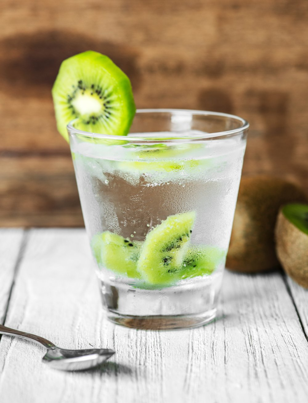 Try infusing water with kiwifruit for a refreshing burst of flavor. - You can eat the kiwifruit afterward!