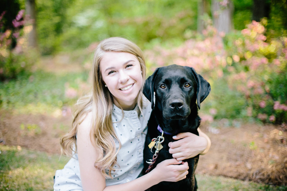 My name is Meredith and I am 16 years old.   I have EDS and POTS.  My service dog, Sami, attends school with me, helps me with mobility, and makes me very happy.