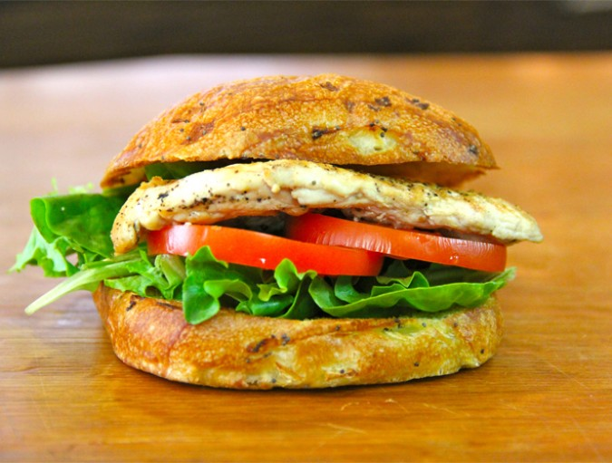 GRILLED ROSEMARY CHICKEN SANDWICH RECIPE