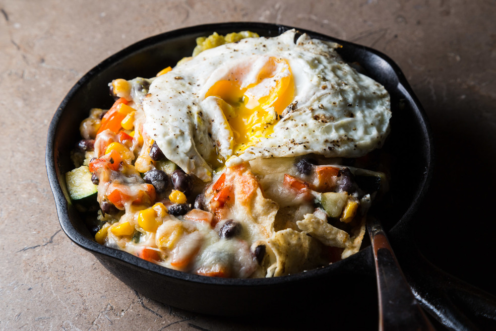 VEGETABLE CHILAQUILES