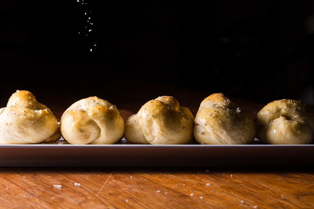 ROSEMARY BUTTER KNOTS