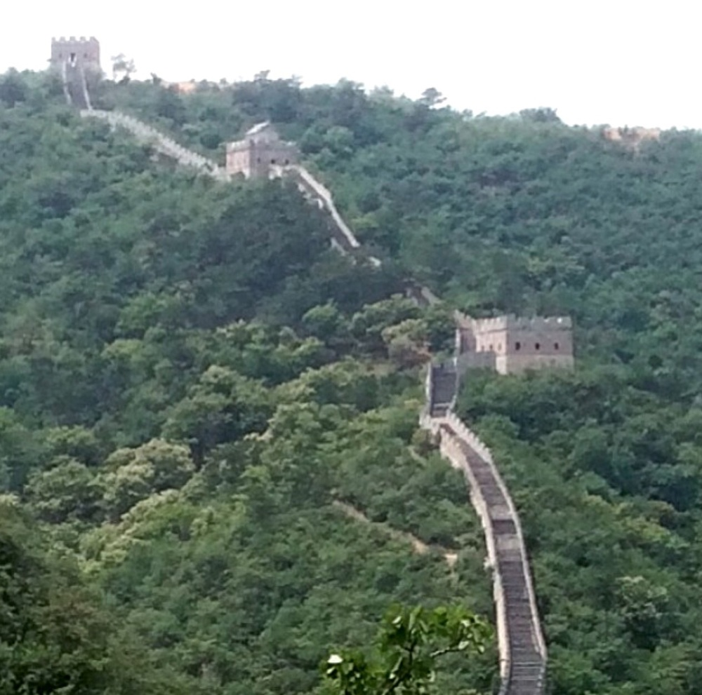 Getting closer, can't wait! @ Great Wall Of China