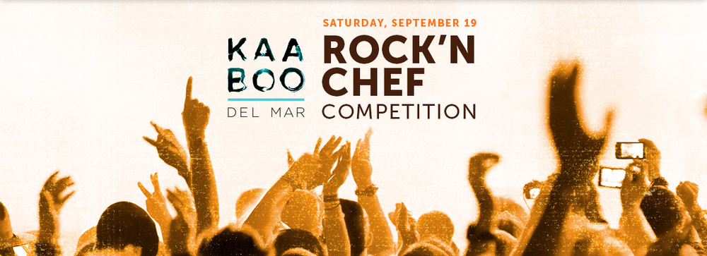 sam the cooking guy at Kaaboo del Mar