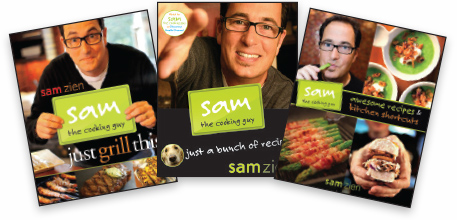 SAM THE COOKING GUY BOOKS