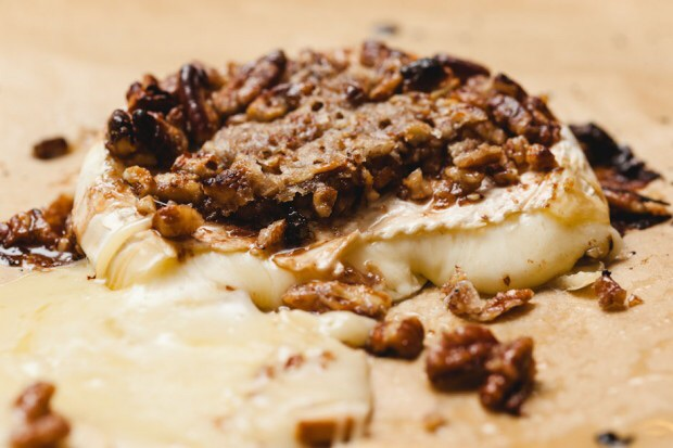 BOURBON BAKED BRIE THECOOKINGGUY