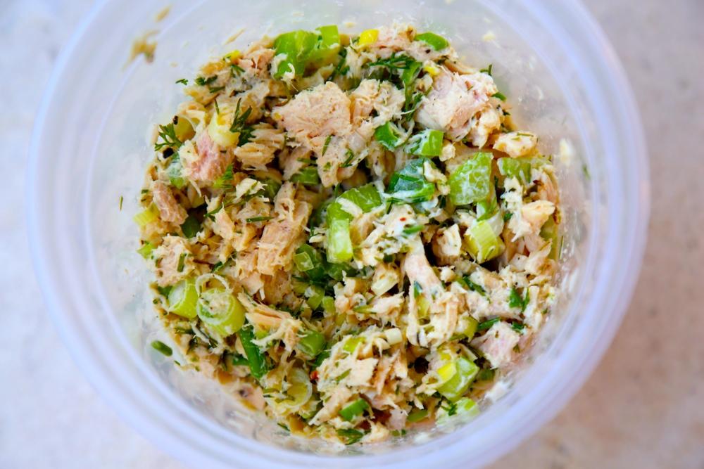 tuna salad thecookingguy