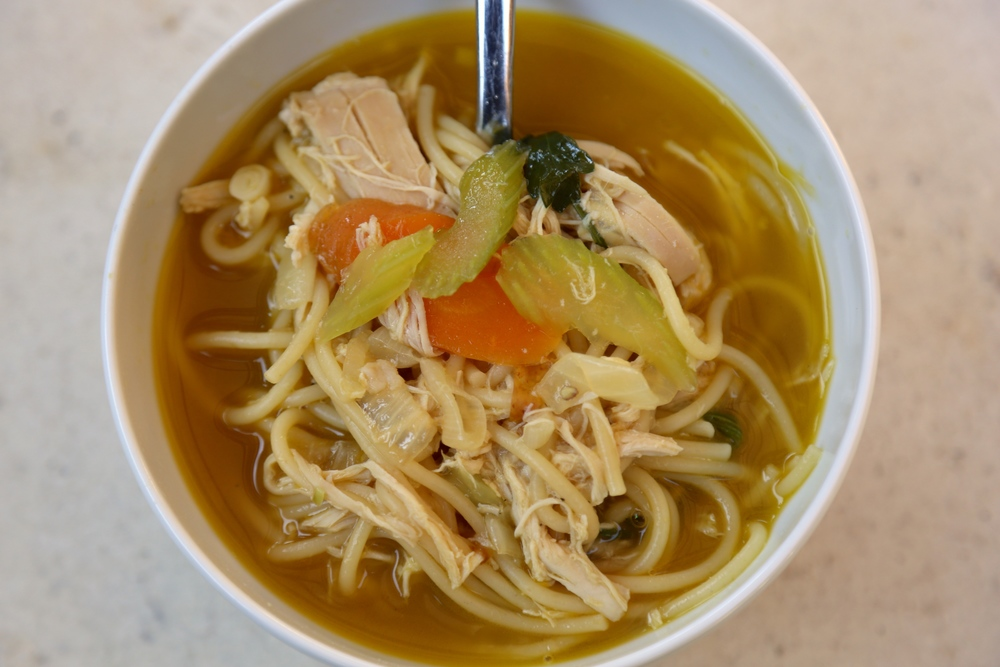 quick chicken nodle soup recipe thecookingguy