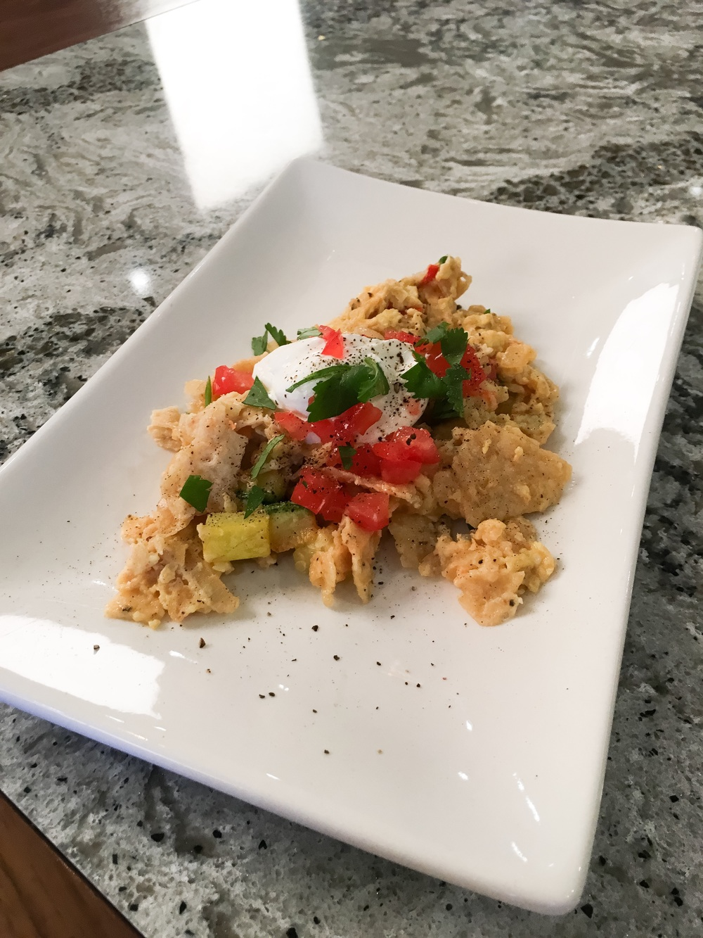 Chilaquiles from Art Rivera