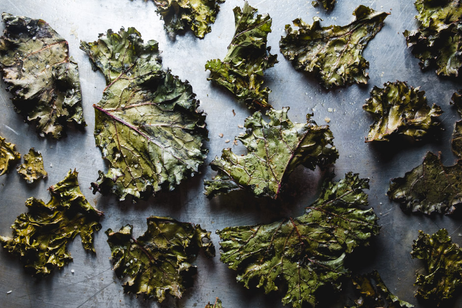 Kale Chips the cooking guy