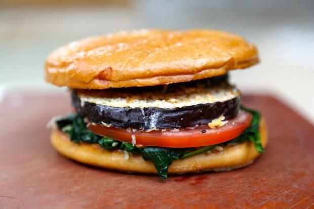 eggplant sandwich thecookingguy