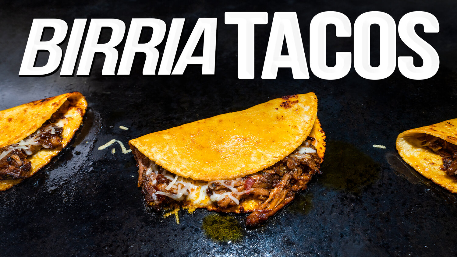 Beef Birria Tacos - SAM THE COOKING GUY
