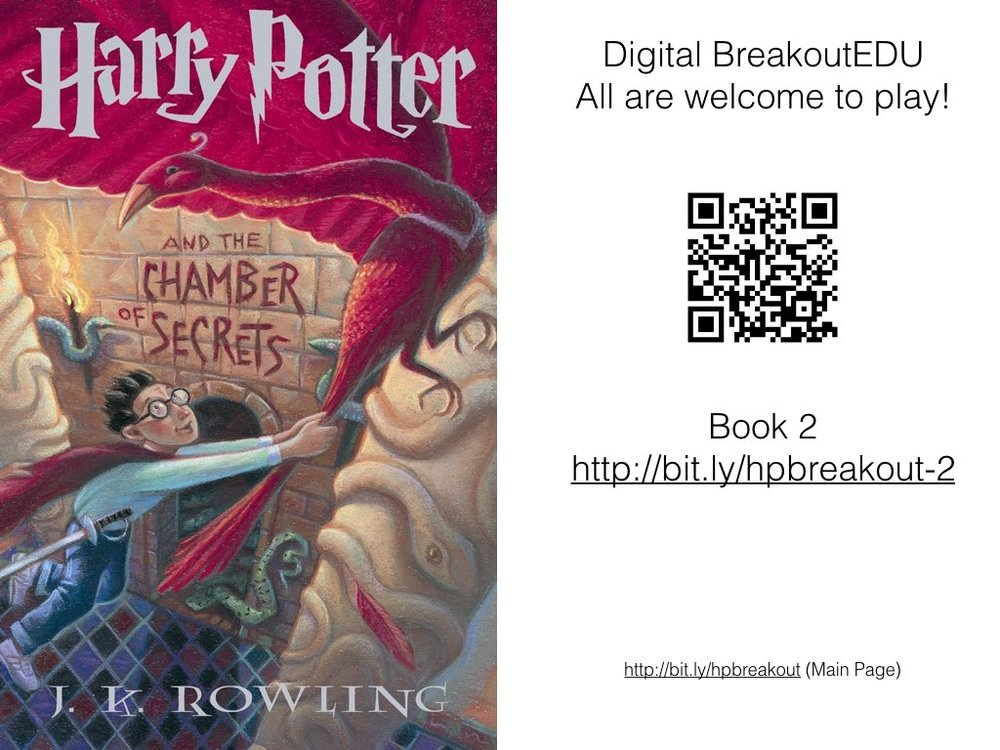 Harry Potter BreakoutEDU For Digital Web