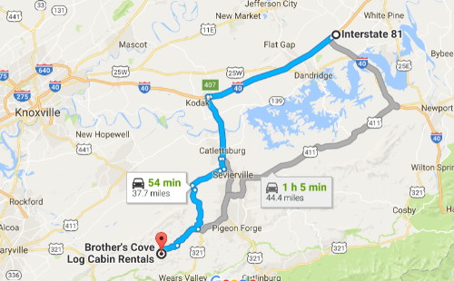 Click map image to open route in Google Maps.