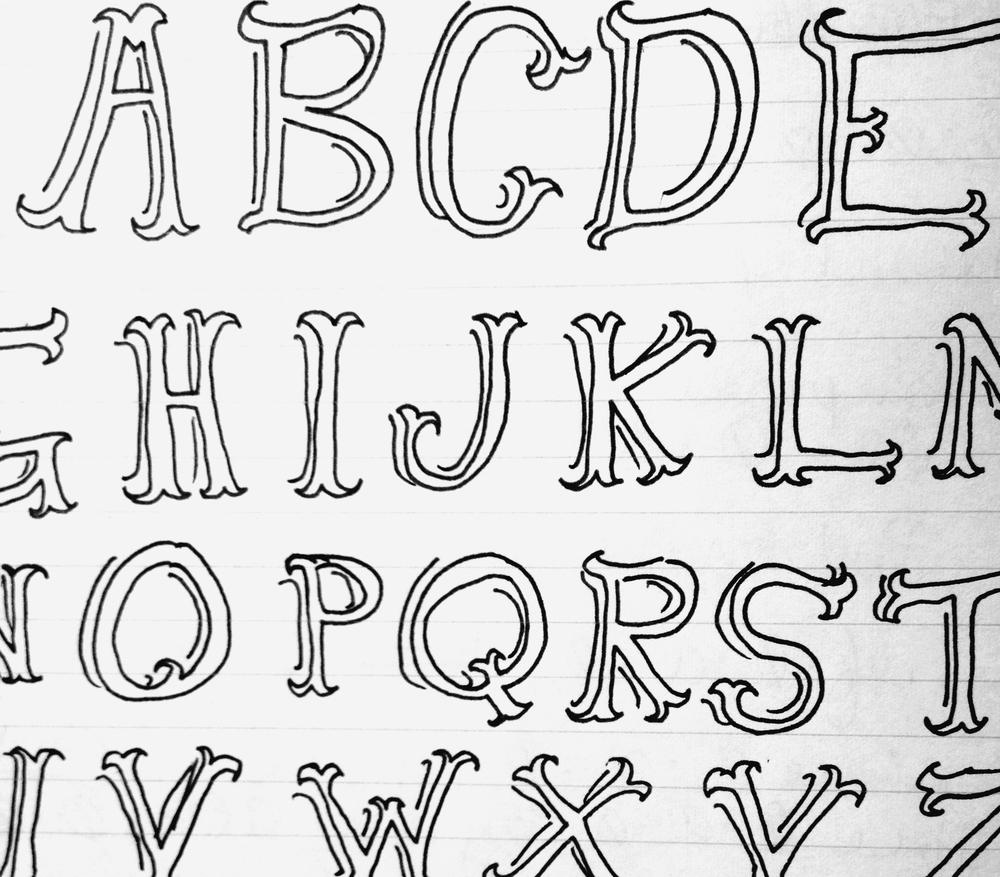 Typography study (2013)