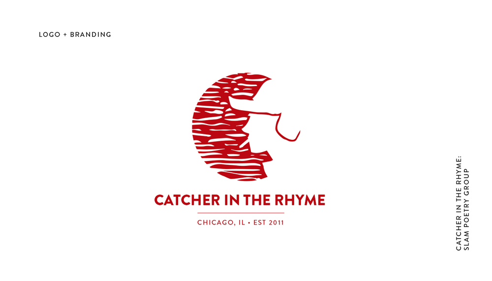 Catcher in the Rhyme Logo + Branding