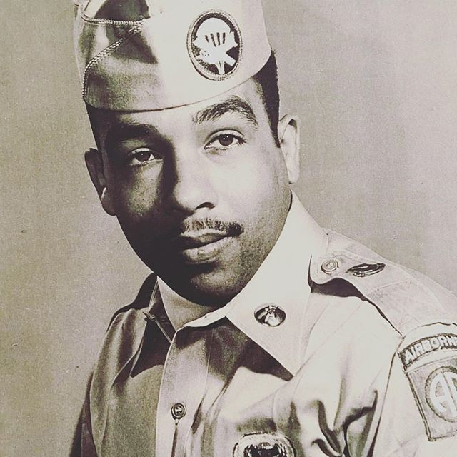 #RIP Sgt. Garner Van Grayson III, 82nd Airborne Paratrooper, US Army (57'-59'). With my love and respect. Thank you for your guidance and humor.