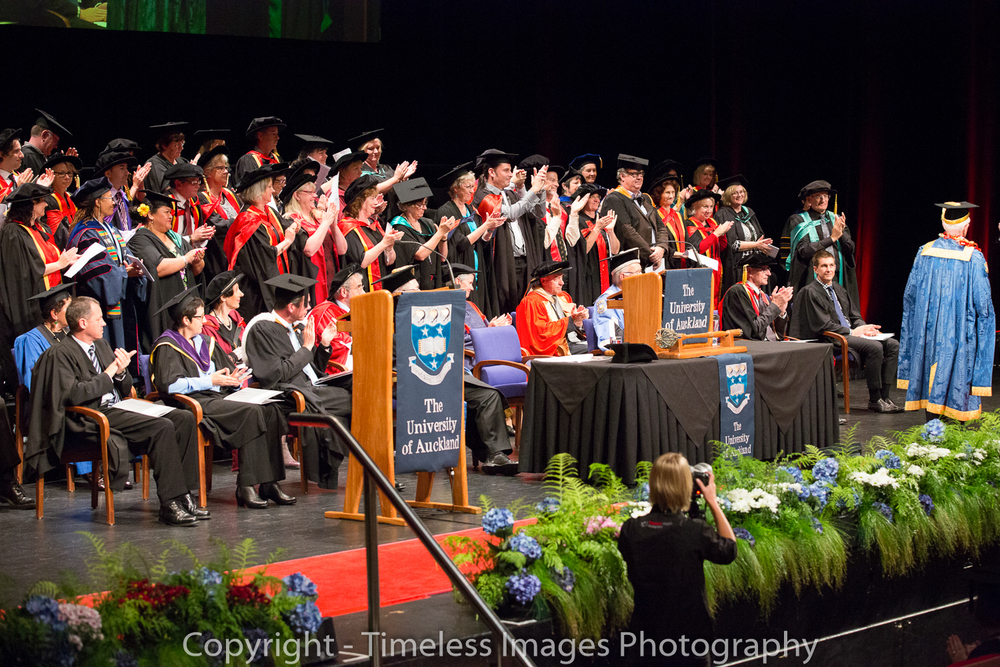 The University of Auckland Graduation Ceremonies 2014