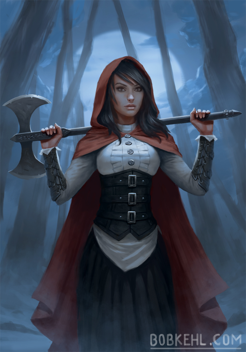 Red Riding Hood - Bob Kehl.jpg