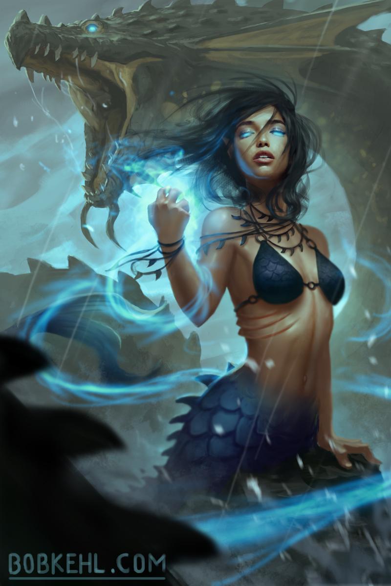 Mermaid Sorcceress - Bob Kehl.jpg