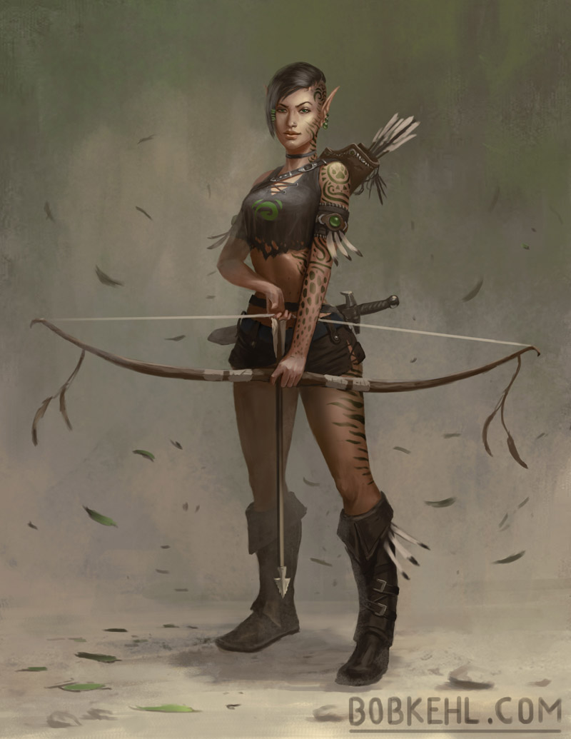 Elf Archer - Bob Kehl.jpg