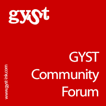 GYSTInk community forum