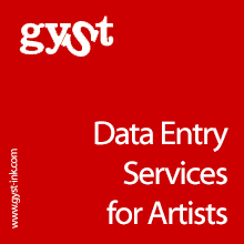 Data Entry Services for Artists