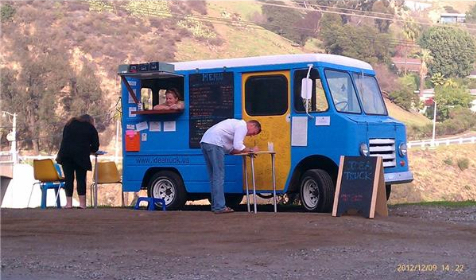 The Idea Truck, a restored and customized taco truck