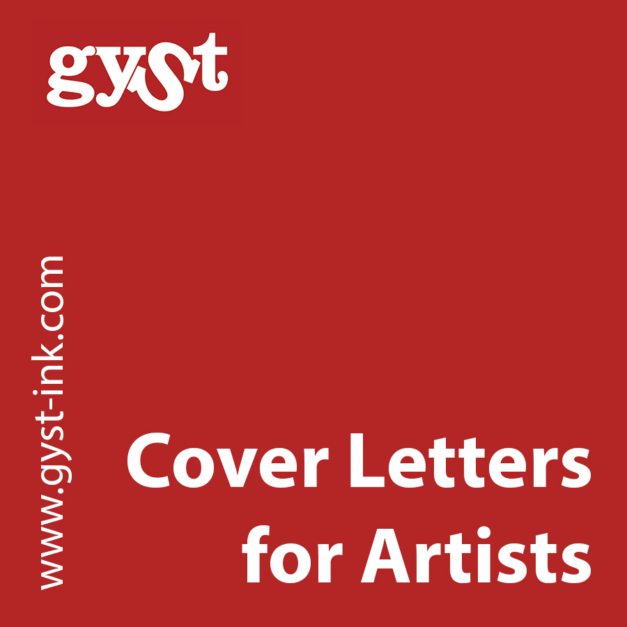 GYST Article Cover Letters For Artists Getting Your Sht Together