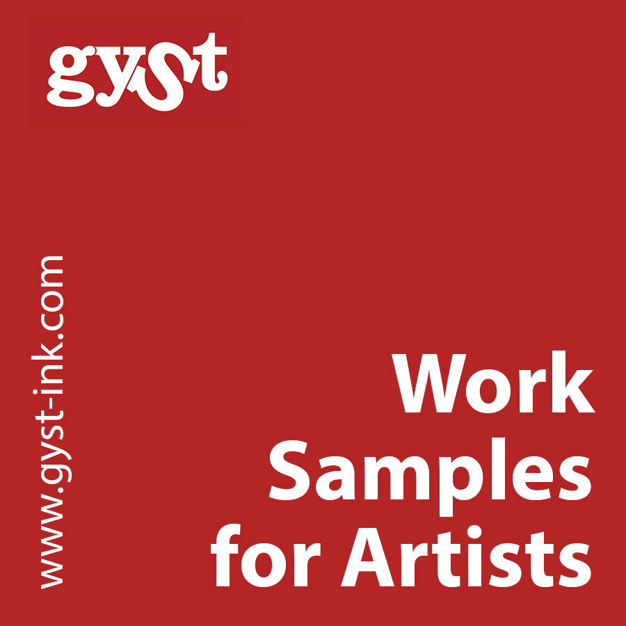 work samples for artists