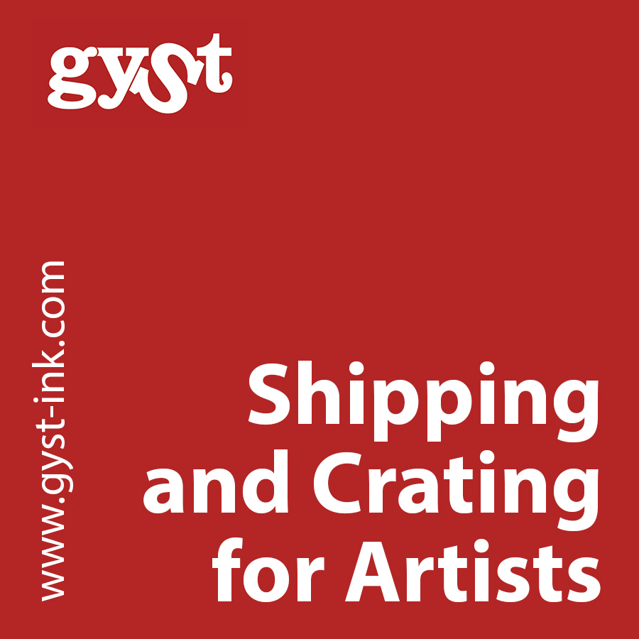 shipping and crating for artists