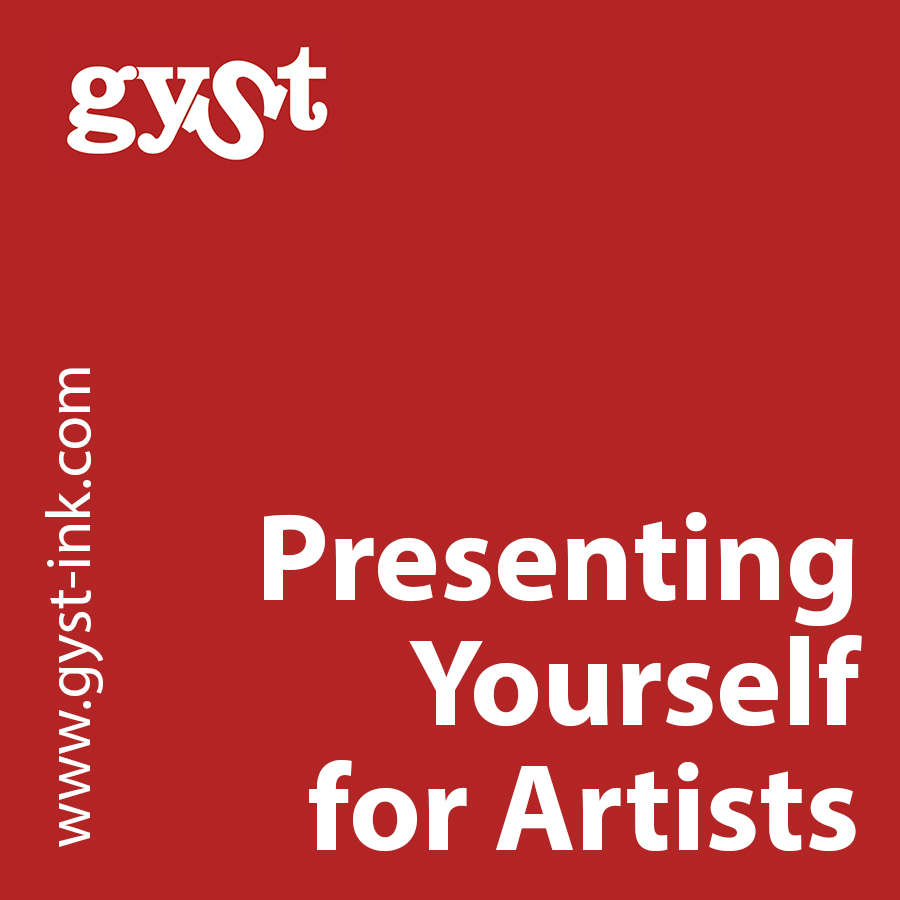 presenting yourself for artists