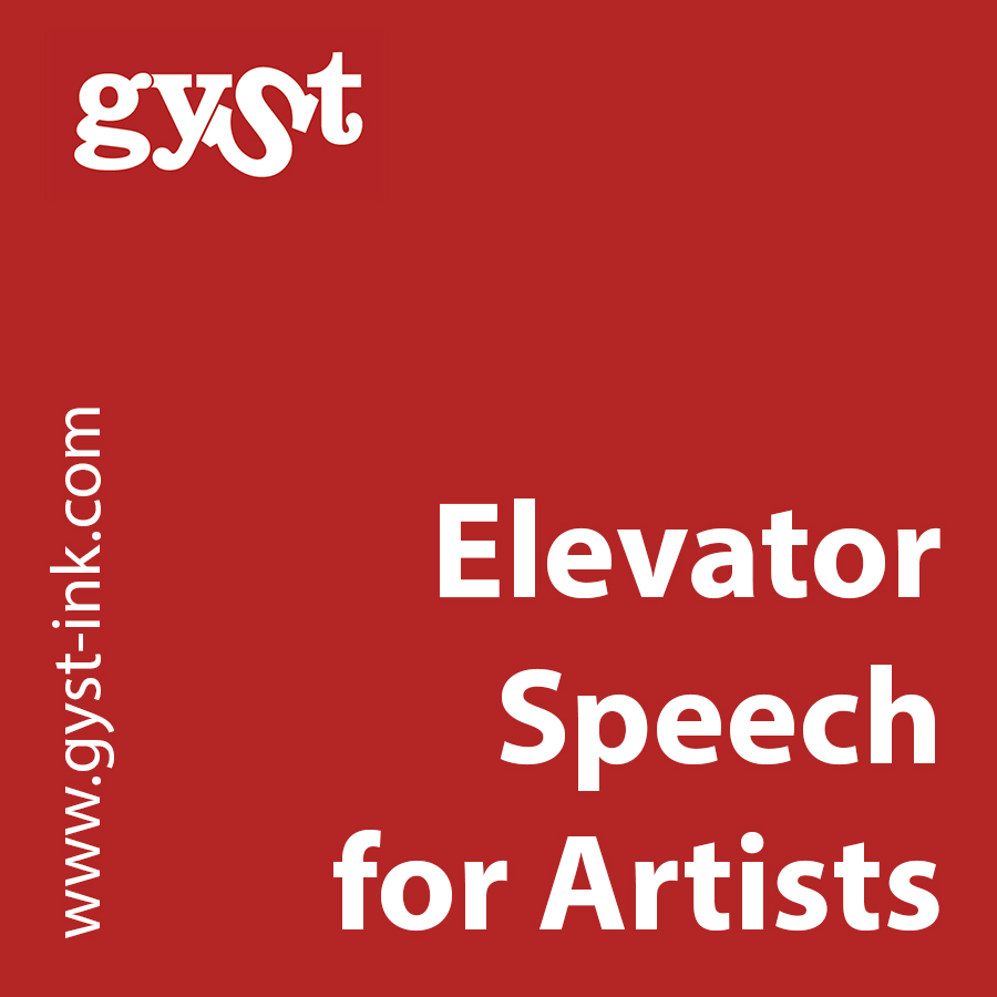gyst article elevator speech for artists getting your sh t together elevator speech