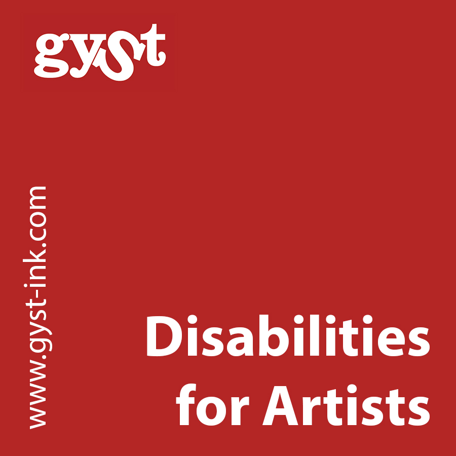 art and disabilities for artists