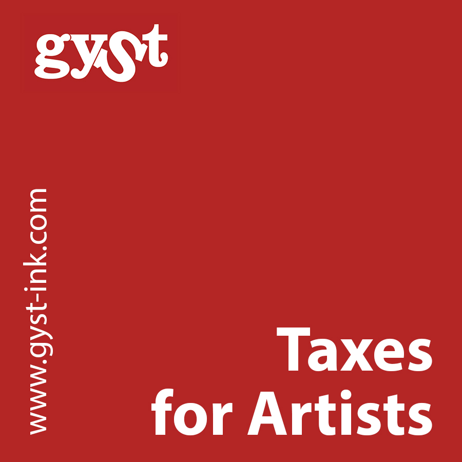 gyst article taxes for artists getting your sh t together