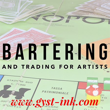 Bartering and Trading for Artists