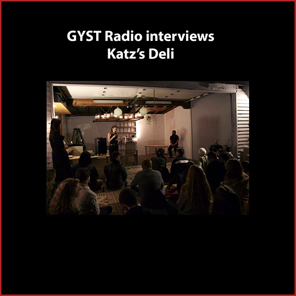 GYST DO IT! With Katz's Deli - Artist and poet Amanda Katz is expanding the term