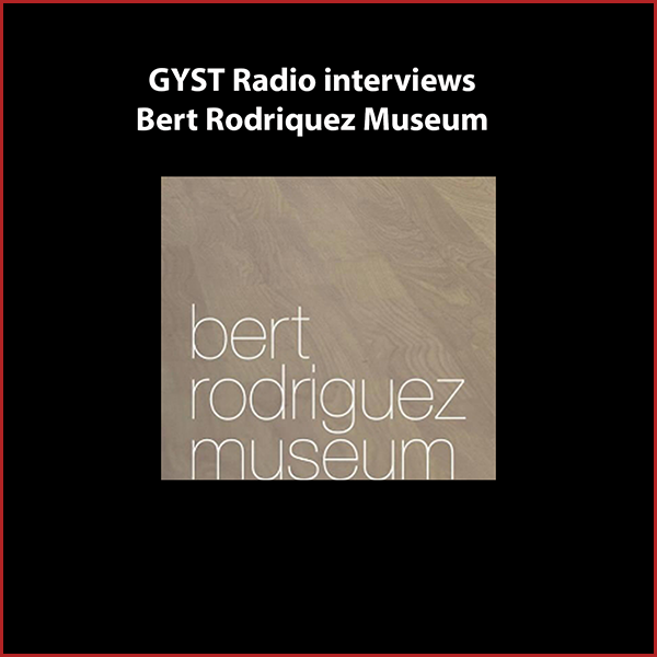 GYST DO IT! With Bert Rodriquez Museum - Bert Rodriguez works within a wide range of media including installation, performance, photography, sculpture, film, video, and sound, to translate ideas that explore the relationship between art and audience.He created The Bert Rodriguez Museum as an art project that adopts all of the institutional tropes of a museum, to serve as a collection of art and artifacts surrounding the artist's life. The museum is in his home and is open to the public by appointment.Bert's latest project was a series of curated performances and workshops at the FORM festival at Arcosanti, the famous experimental, communal town in the Arizona desert. His next project involves his (conceptual) death, with a transformation into an artist with a new first name, who's artwork will be based on the life work of Bert Rodriguez.Rodriguez's work has been shown widely, nationally and abroad, including exhibitions at several prestigious institutions, including the Miami Art Museum, the Bass Museum of Art, the Whitney Museum of American Art, the Rubell Family Collection, the Kemper Museum of Art and, the Bronx Museum. He lives and works in Los Angeles, CA.Hosted by Kara W. Tomé