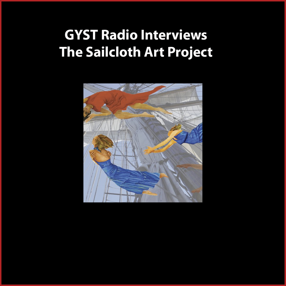 GYST DO IT! With Sail Cloth Art Project - Heather Hertel is a cross-disciplinary artist and professor at Slippery Rock University of Pennsylvania.  She created the Sailcloth Art Project to combine her art practice with her love of sailing and she collaborates with visual artists, dancers, performance artists, and musicians.Heather is also committed to educating her art students about professional  and DIY practices and uses GYST materials and resources to do so. hhertel.com Hosted by Kara Tomé