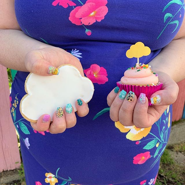 Rain themed baby shower treats for me!