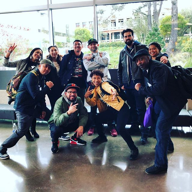 LETC crew reppin for the hip-hop educators @ #rtsb12 @skyline_college @cipherskylinecollege #hiphoped