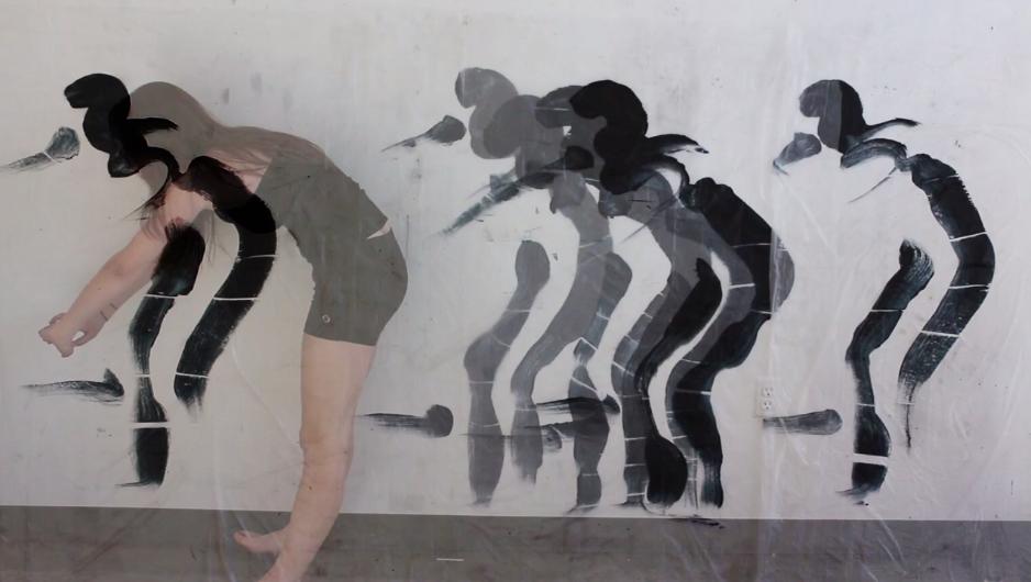 SW 19 Kelsey Sheaffer, stills from video, ink on plastic, video overlay, independent studies, spring 2013, Davidson College, Davidson, NC..png