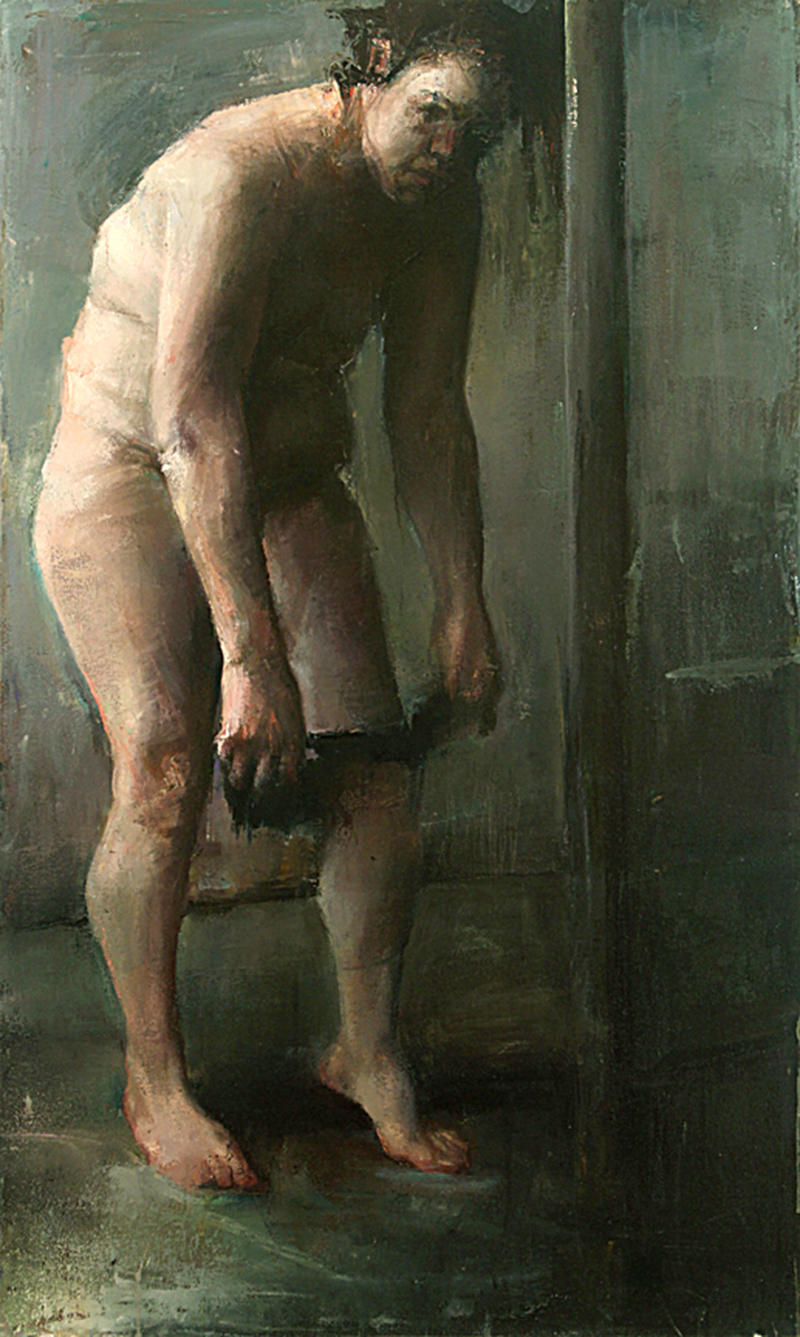 "Every Body Knows, midday 2, Oil on canvas, H60""xW36"", 2007"
