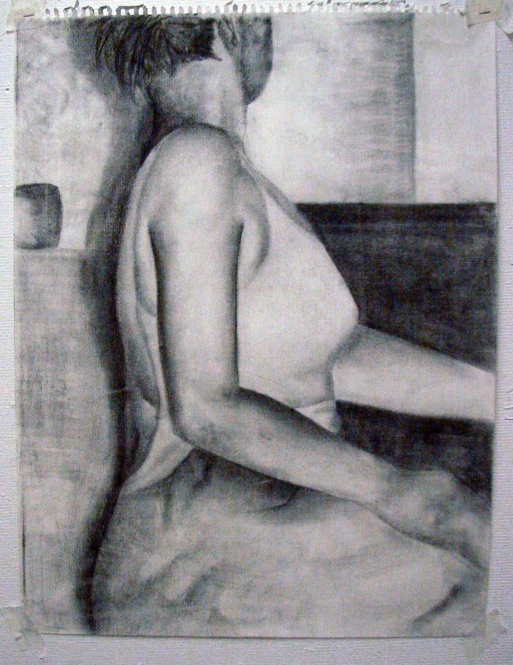 SW 10 220 Figure Drawing, Penn State University, Spring 2006, Gia Medwid.jpg